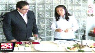 Aprenda a preparar un exquisito plato gourmet para verano