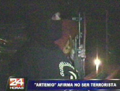 Camarada Artemio afirma no ser terrorista