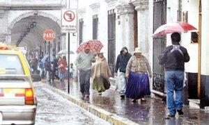 Senamhi: Lluvias al interior del país aumentarán de intensidad