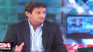 Renzo Reggiardo propone modificar leyes para sancionar delitos en menores