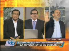 Congresistas Velásquez y Simon tuvieron acalorado debate sobre revocatoria