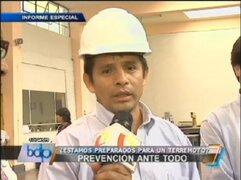¿Sabe usted si la estructura de su vivienda es segura ante un terremoto?