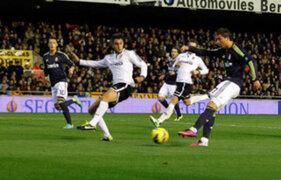 Real Madrid derrotó de manera categórica por 5 a 0 al Valencia
