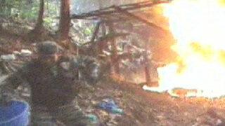 Huánuco: policía da fuerte golpe al narcotráfico