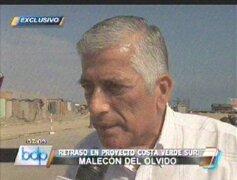Luis Baca: Hay actos de corrupción en obra Costa Verde Sur