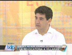 Eduardo Zegarra: Promotores del NO participarán a exposición de motivos