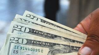 Dólar cae a S/. 2,772 y alcanza su nivel más bajo en tres semanas