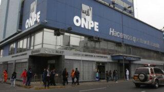 ONPE al 91,66%: Jaime Salinas y José Alberto Danos serían revocados