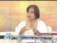 Mercedes Cabanillas: Escolares deben estudiar hasta las cuatro de la tarde