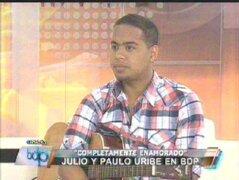 """Cantante Paulo Uribe lanzó su sencillo """"Nuevamente Enamorado"""""""