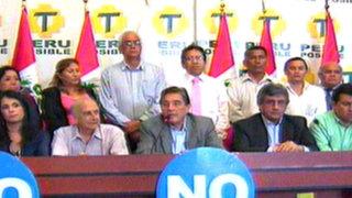 Perú Posible presenta a su equipo por la No revocatoria a Villarán