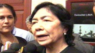 Magdalena Chú habló sobre 'ley Nadine' en último día al frente de la ONPE