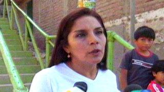 SJM: denuncian 'repintado' en escaleras de gestión de Luis Castañeda