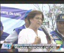"""Alcaldesa  Villarán propone al Congreso  """"revocar a la revocatoria"""""""