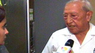 Isaac Humala vuelve a hablar para defender a su hijo Alexis