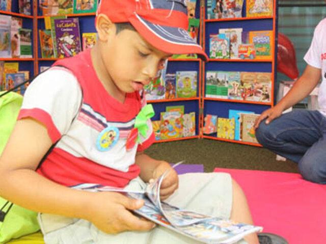 Ministerio de Cultura fomenta espacios de lectura en todo el país