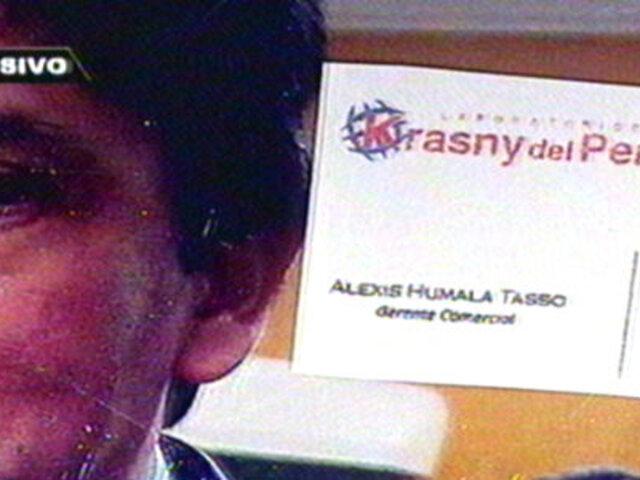 Gravísima denuncia remece a Krasny del Perú e involucra a Alexis Humala