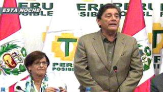 Villarán se reunió con Luis Thais y agradeció a Perú Posible por su apoyo