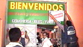 Restaurantes insalubres fueron clausurados en el Cercado y San Miguel
