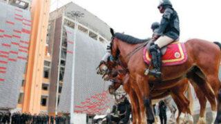 Estadio Monumental: delincuentes atacaron a policía en 'La Noche Crema'