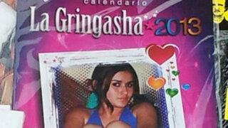 Calendario de 'Gringasha' aparece misteriosamente en quioscos limeños