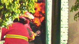 Barranco: corto circuito provoca incendio y deja seis familias en la calle