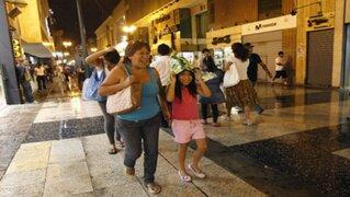 Lima registrará ligeras lloviznas