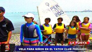 La Punta: Yatch Club ofrece novedoso curso de Vela Optimist para niños