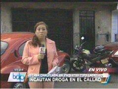 Callao: Policía Nacional incautó 600 kilos de droga en una vivienda