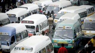 Vehículos de transporte público no pasan revisiones técnicas