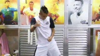 """Neymar impone el baile """"Ah lelek, lek, lek"""" en Brasil"""