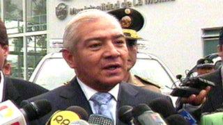 Pedraza afirma que traslado rápido de vehículos oficiales es necesario