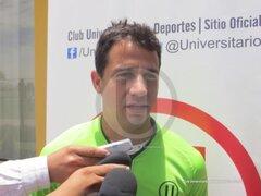 Diego Guastavino: Solo jugaría por Universitario de Deportes en el Perú