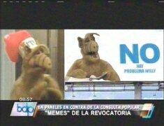 Memes sobre la revocatoria son la sensación en las redes sociales