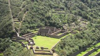 Camino inca que conduce a Choquequirao será puesto en valor