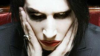 Marilyn Manson se desmayó durante un concierto en Canadá