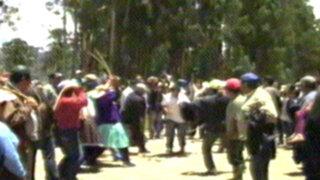 Cajamarca: ladrones fueron capturados y azotados por ronderos