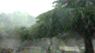 Tumbes: lluvia de 12 horas causó temor entre la población