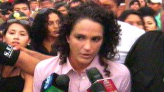 Kina Malpartida declaró ante la fiscalía por conducir sin licencia