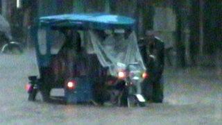 Noticias de las 7: intensas lluvias inundan las calles de Pucallpa