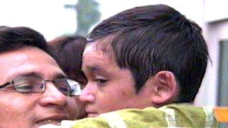 'Niño mariposa' Isaac Pilco volvió luego de tratarse en Chile