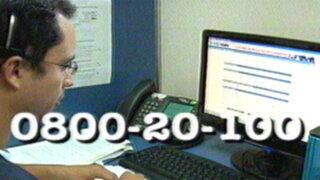 ONPE habilita línea telefónica para consultas sobre la revocatoria