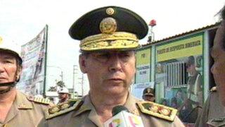 Policía Nacional se puso en alerta por inicio del feriado largo