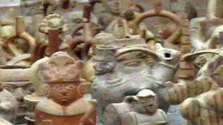 Policía recuperó más de 250 piezas prehispánicas robadas