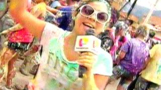 La Previa del UTC-Alianza Lima al ritmo del carnaval de Cajamarca