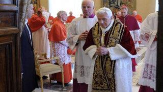 Carta del Papa Benedicto XVI anunciando su retiro del pontificado