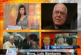 Monseñor Bambarén: se sabía que Papa Benedicto XVI tenía problemas de salud