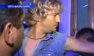 La furia de Renato Rossini contra un equipo de prensa