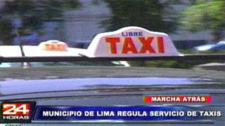 Taxistas podrán cancelar papeletas con descuentos de hasta 80%