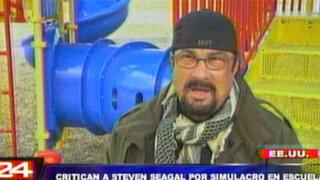 EEUU: Steven Seagal entrenará a voluntarios para defenderse de tiroteos